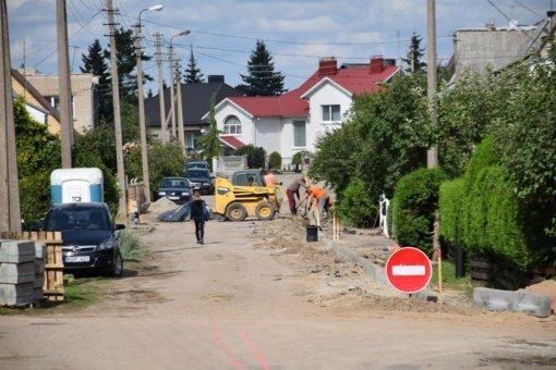 Dar dvi Raseinių miesto gatvės bus suremontuotos