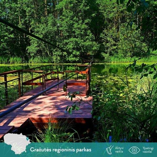 Nauja trasa po rudenėjančią gamtą – Lietuvos Šveicarija vadinamame Gražutės regioniniame parke