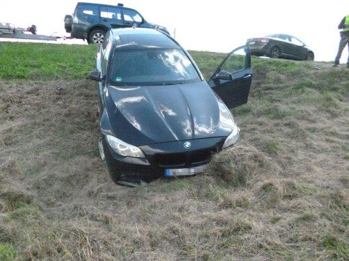 """Gaudynės Lazdijų rajone: sulaikytas vyras, įtariama, vairavo Olandijoje pavogtą """"BMW 535D"""""""