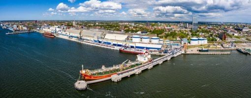 Klaipėdos uoste krantinės pritaikomos didesniems laivams