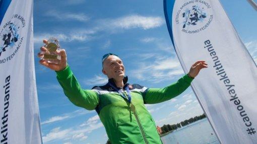Lietuvos čempiono titulą susigrąžinęs baidarininkas tebesvajoja apie olimpinį auksą