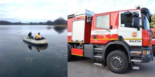 Molėtų rajone iš ežero ištrauktas nuskendęs vyras