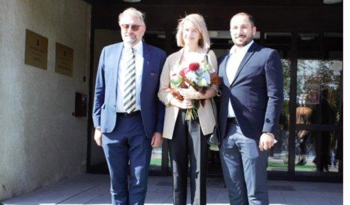 Panevėžio meras priėmė svečius iš Sakartvelo ambasados