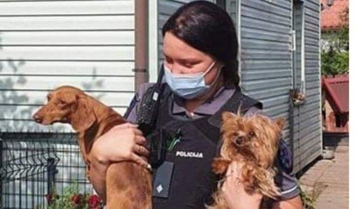 Savaitgalį Tauragėje sulaukta nemažai pranešimų dėl pasibaisėtinomis sąlygomis laikomų gyvūnų