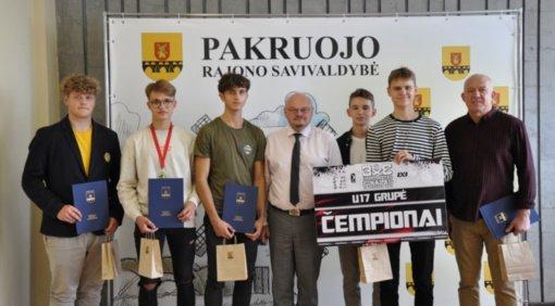 Padėkota Lietuvos 3x3 krepšinio U17 čempionams