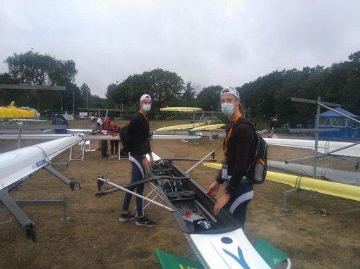 Kauno rajono irkluotojų startai Europos jaunimo čempionate