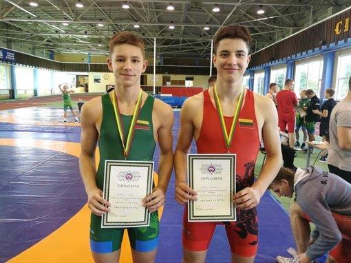 AKKSC imtynininkai jaunių čempionate pasipuošė medaliais