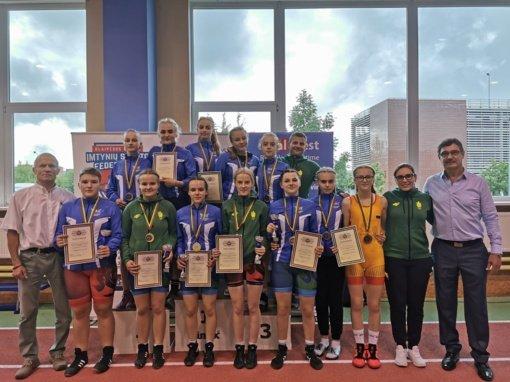 Šiaulių imtynininkės Lietuvos respublikos jaunių čempionato favoritės