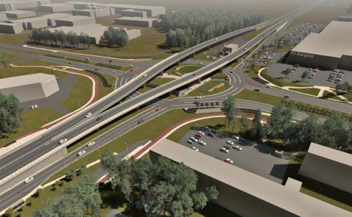 Startuoja Baltijos prospekto estakados rekonstrukcija