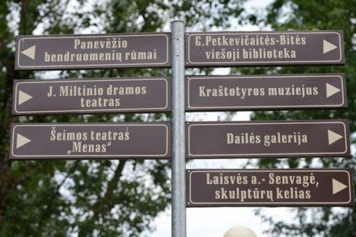 Gerinamos turizmo plėtros sąlygos Panevėžyje