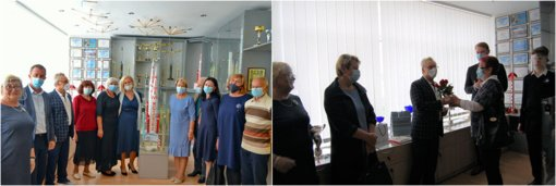 Radviliškio Vaižganto progimnazijoje – atnaujinto Kosminio modeliavimo muziejaus atidarymo šventė