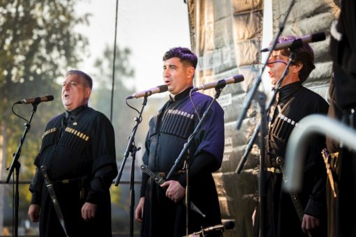 "Chaimo Frenkelio vilos parke skambėjo stiprūs ansamblio ""Suliko"" balsai (fotogalerija)"