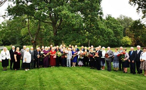 Burbiškio dvare – šeštoji Auksinių vestuvių šventė