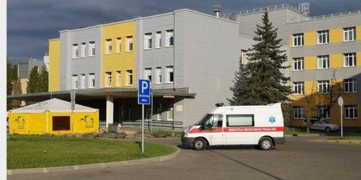 Kėdainių ligoninėje – koronavirusu sergantis pacientas