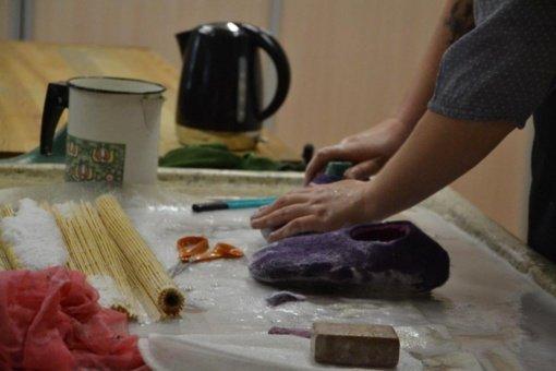 Tradicinių amatų centre – edukaciniai užsiėmimai ir amatų demonstravimai