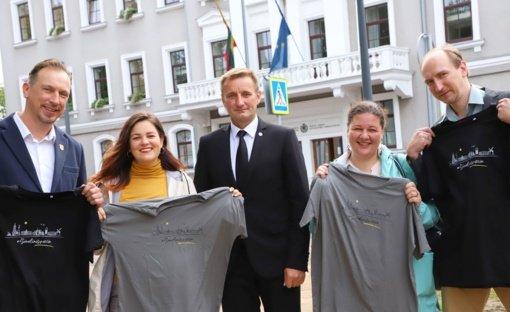 Šiaulių meras padėkojo už išradingą miesto garsinimą