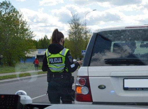 Pareigūnai tikrino vairuotojų blaivumą Šiaulių ir Telšių apskričių gatvėse: rezultatai nedžiugino