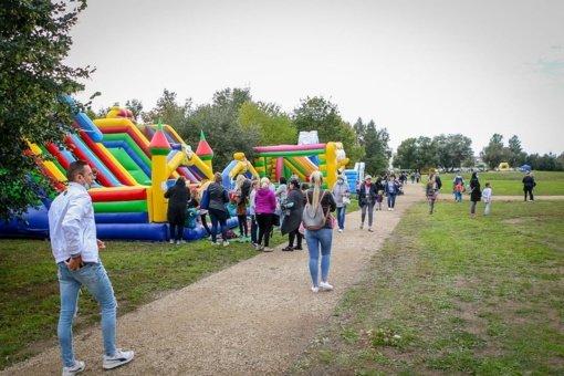 Eibariškių parko atidaryme – pramogos ir atrakcionai vaikams