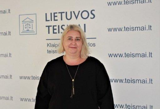 Klaipėdos apygardos teisme darbą pradeda teisėja Larisa Šimanskienė