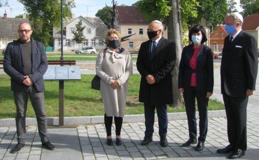 Joniškio rajone vyko Holokausto aukų minėjimas