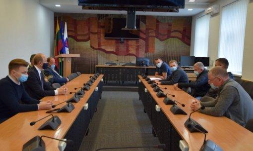Tęstiniame susitikime su žvejais diskutuota aktualiais klausimais