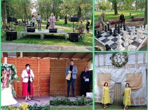 Narto seniūnija ir Puskelnių bendruomenė savaitgalį surengė išskirtines šventes