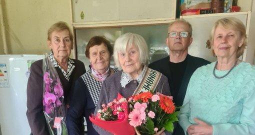 Gražią ir saulėtą rugsėjo dieną – garbingas 90 metų jubiliejus