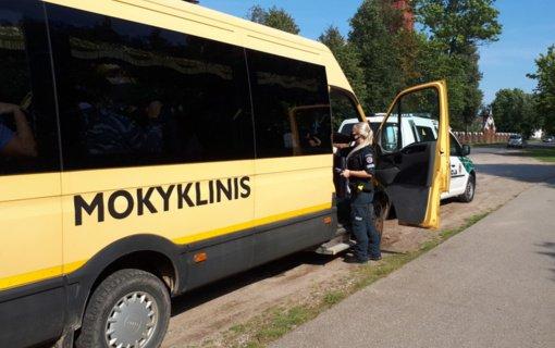 Ignalinoje pareigūnai tikrino vairuotojų blaivumą