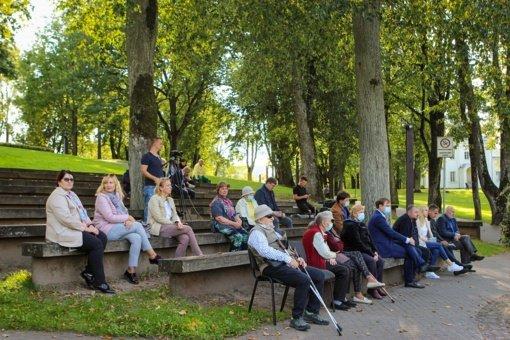 Maironio parko amfiteatre – strateginio plėtros plano projekto viešas aptarimas
