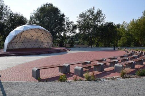 Atnaujintos Pilviškių miestelio erdvės
