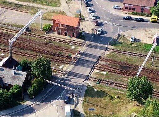 Ties starto linija – Lentvario geležinkelio pervažos rekonstrukcija ir tunelio statyba