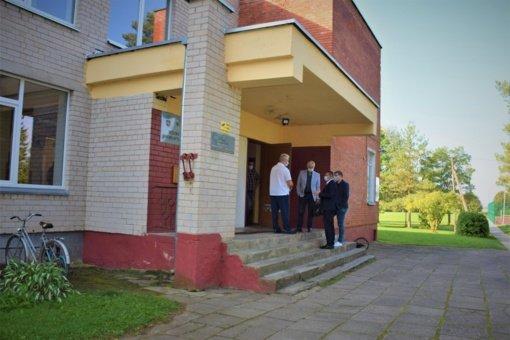 Biržų rajono savivaldybės vadovai lankėsi Medeikiuose