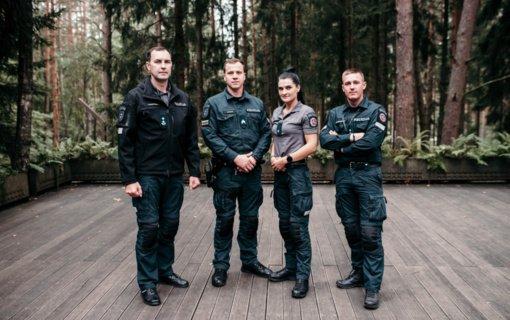 Geriausios Lietuvos policijos pareigūnų komandos konkurse Klaipėdos apskrities pareigūnai užėmė ketvirtą vietą