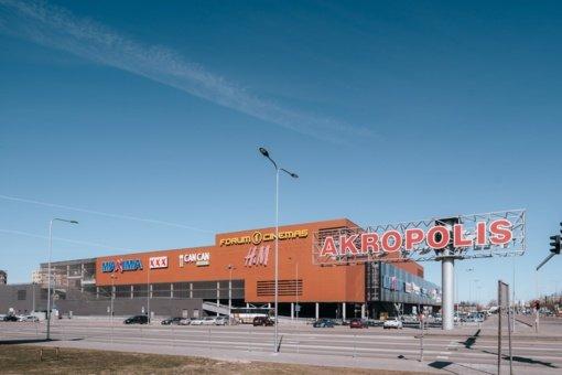 """Vilniaus ir Šiaulių """"Akropoliuose"""" koronavirusu užsikrėtė du darbuotojai"""