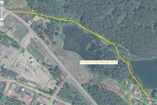 Ignalinoje – nauji dviračių takų ir Ligoninės gatvės projektai