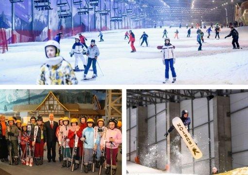 Druskininkų planuose – sporto klasė žiemos sportu užsiimantiems vaikams iš visos Lietuvos