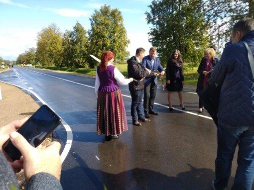 Atidarytas atnaujintas kelias Tervetė–Žagarė