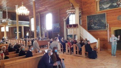 Prakalbintas sakralumas Svėdasuose