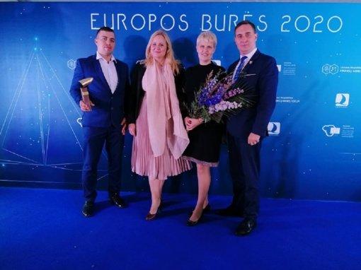 """Raseinių rajono savivaldybei – """"Europos burių"""" apdovanojimas"""