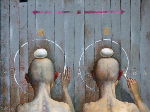 """Dusetų krašto menininkų jubiliejinė kūrybos paroda """"Galerijai – 25"""""""