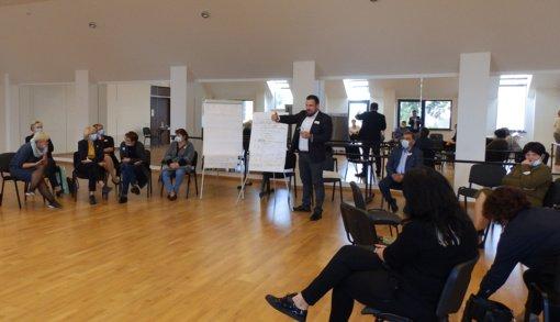 Molėtuose surengta konferencija dėl ateities darnaus judumo savivaldybėje