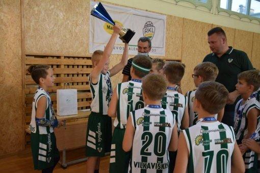 Jaunieji krepšininkai kovojo dėl Mero taurės