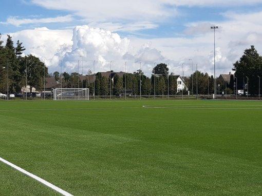 Kretingoje atidaroma nauja futbolo aikštė