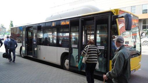 Policija prašo pagalbos – gal atsiras įvykį autobuse matę asmenys?