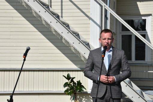 Marijampolėje duris atvėrė restauruoti advokatų Bulotų namai