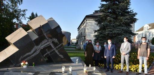 Pagerbtas kovojusių už  Lietuvos laisvę atminimas