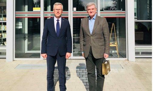 Jurbarke viešėjo Kroatijos Respublikos ambasadorius Lietuvoje