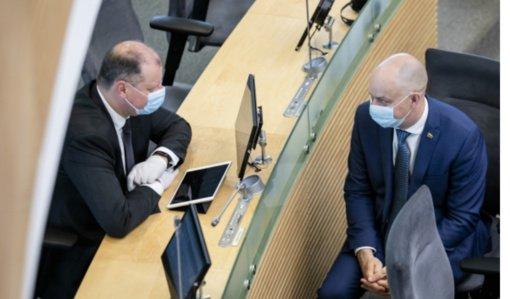 Vakcinoms pirkti gali reikėti per 100 mln. eurų