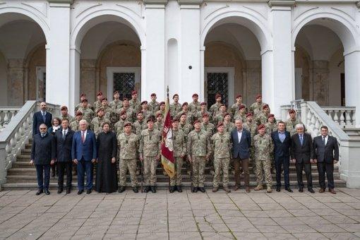 Biržuose į misiją Malyje išlydėta aštunta Lietuvos karių pamaina