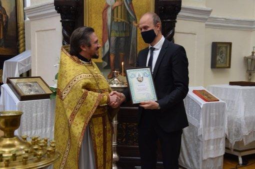 Paminėtas Kybartų stačiatikių Šv. Aleksandro Neviškio bažnyčios jubiliejus
